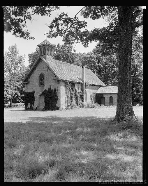 Eastern Shore Chapel, East Lynnhaven Parish, Virginia...