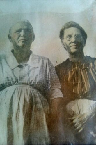 Mary Elizabeth Head Miller and Mamie Ellen Ellis Miller