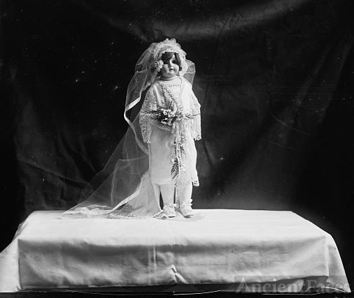 Doll named by Mrs. Coolidge