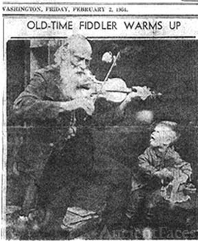Old Fiddler warming up