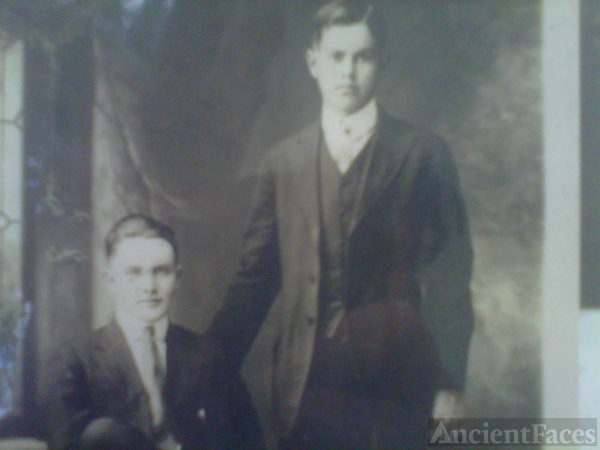 Great Grandfather Roy & Great Uncle Zachary