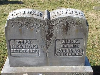 Ezra Meadows and Alice