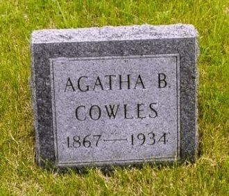 "A photo of Agatha ""Aggie"" Farner Cowles"