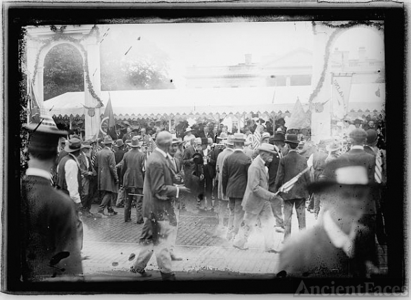 Confederate Veteran's reunion, 1917, Wash., D.C.