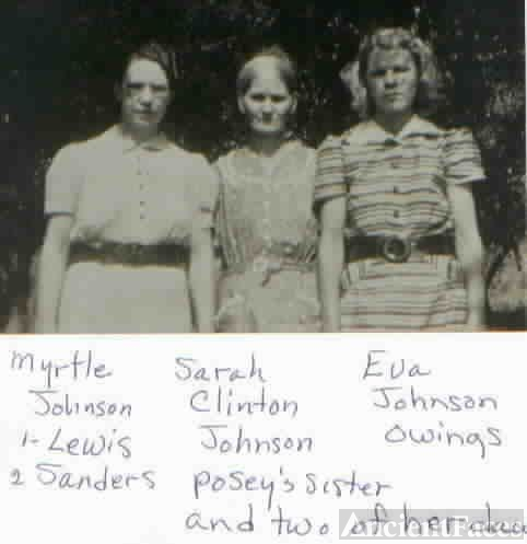 Myrtle, Sarah & Eva Johnson