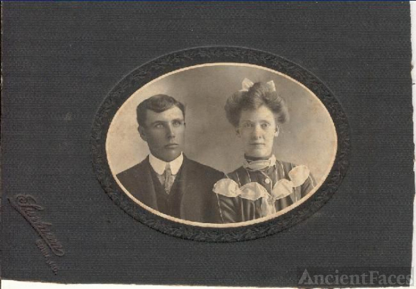 Bertha Little and Homer  Hull