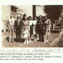 Thomas Wadsworth Starnes and family