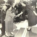 Queen Elizabeth II  & Mamie Eisenhower - White House