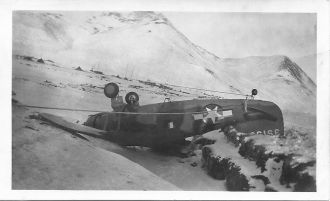 Plane Crash Aleutian Islands