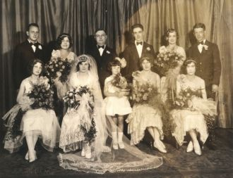 Unknown Wedding Party