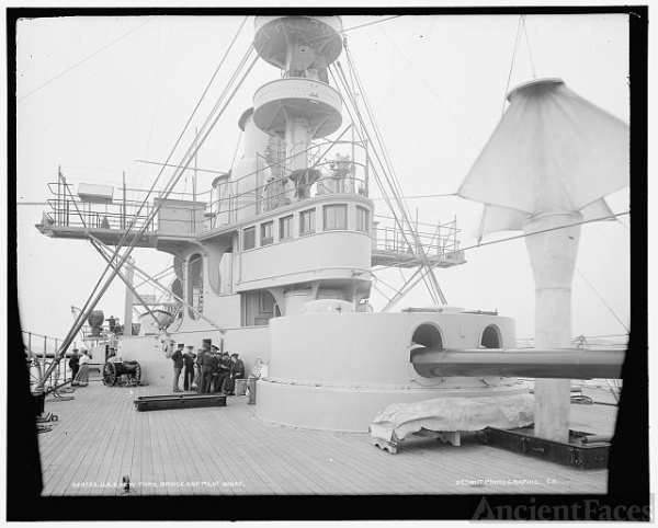 U.S.S. New York bridge and pilot house
