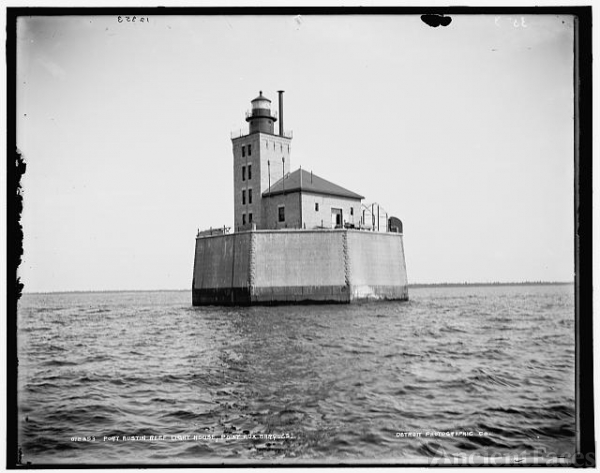 Port Austin Reef Light House, Point[e] Aux Barques