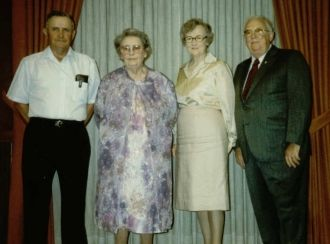 Jiggs, Dymple, Marge, Bill Hereford