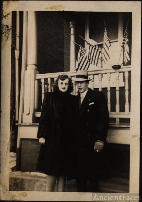 1930-40's Unknown Couple