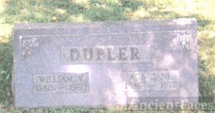 William V. and Ada Jane Dupler