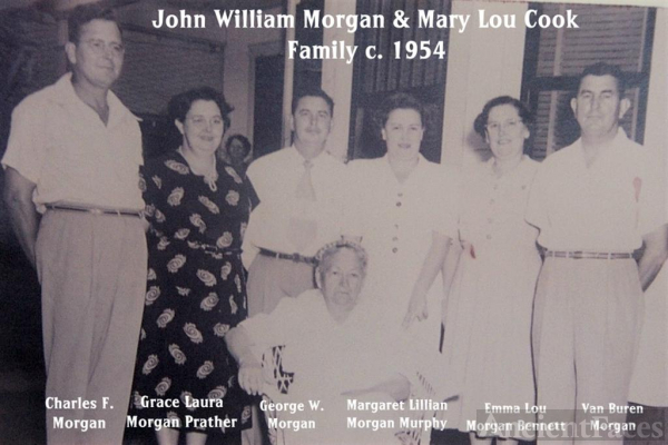 Morgan Family c. 1954