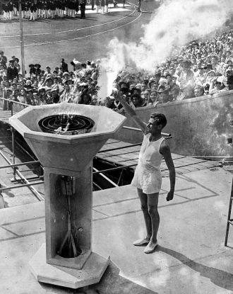 1948 London Olympics - Torch Bearer