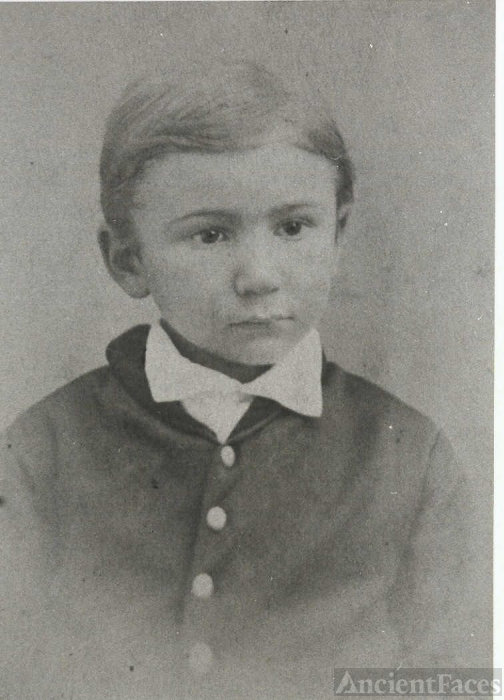 Willie W. Frost at Age 7