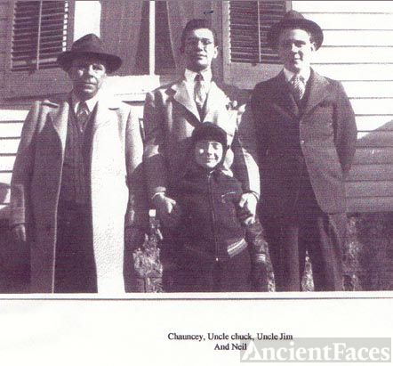 Chauncey, Charles, James & Neil Hickok