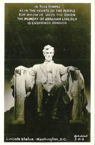 A photo of Abraham Lincoln