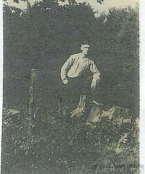 Unknown Morris Picture, Young man