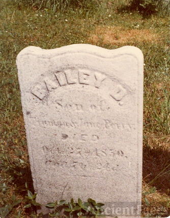 Bailey D. Perry gravestone