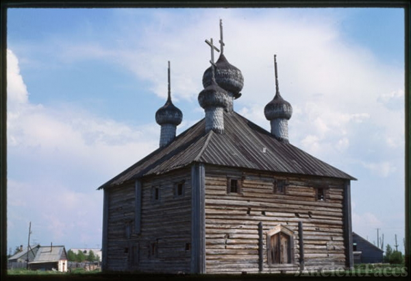 Log Church of the Transfiguration (1679, 1717), northwest...