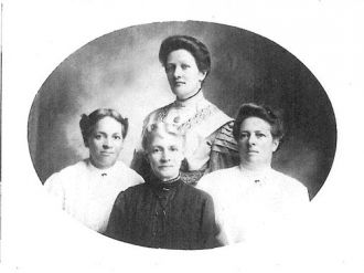Ellen Mariah Cady Stafford and daughters