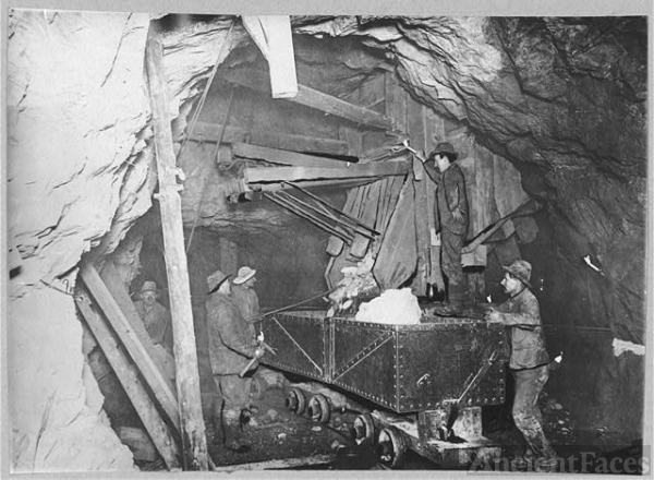Treadwell Gold Mine five hundred feet under the ocean