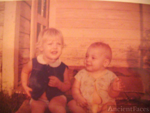 Daryla F Fisher (Luinstra) & brother