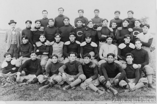 Native American Football Team