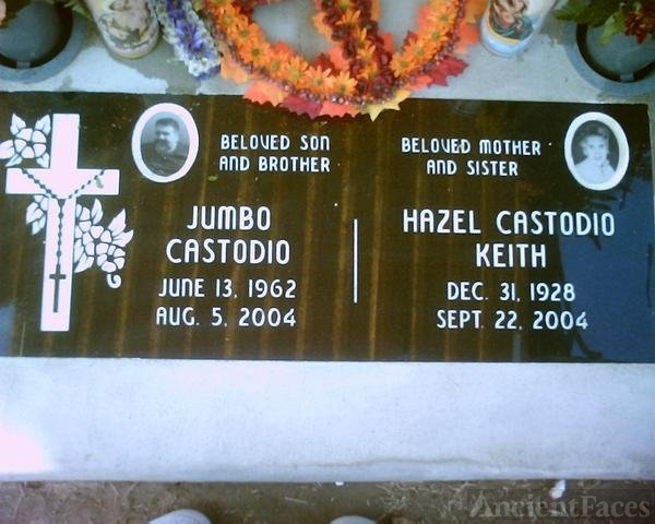 James Castodio headstone