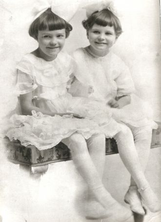 Margaret Braunger and Mary Ellen Betz