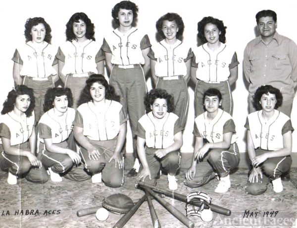 La Habra Aces 1949 California