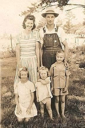 Grover and Hazel (Ballenger) Stone and family