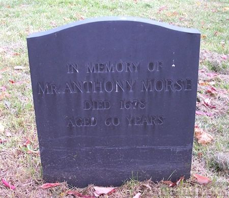 Anthony Morse Tombstone