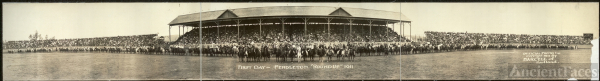 "First day, Pendleton ""Round Up"", 1911"