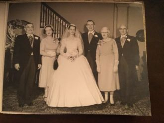 Wedding of George & Rosemary Gilbert