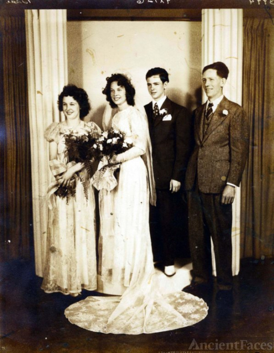 Mystery Wedding Photo