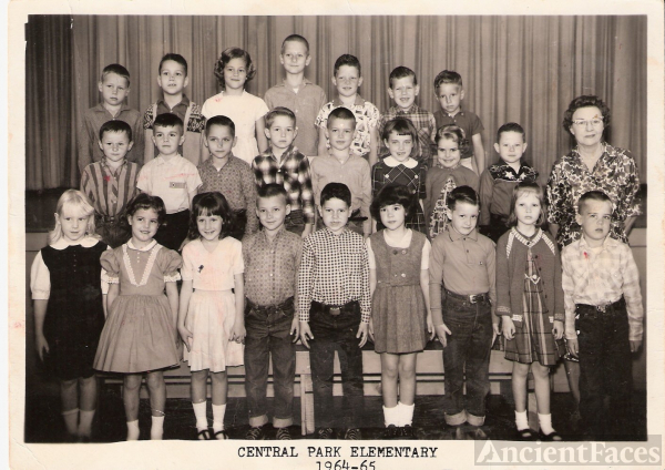 Central Park Elementry 1st GRADE 1964 -65