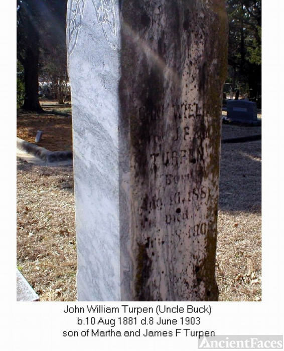 John William Turpen Grave