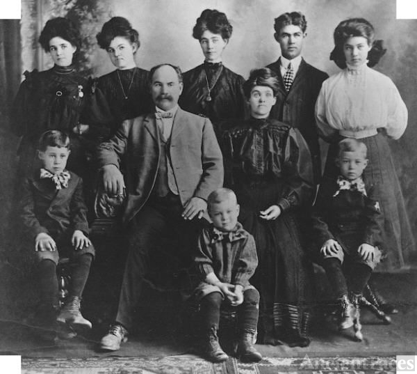 Hyrum Andrew Shupe Family