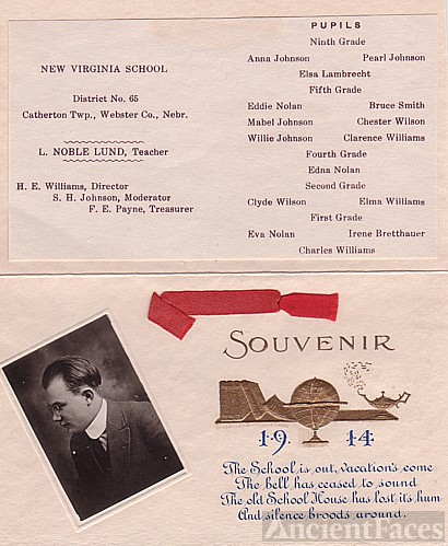One-Room School Classes of 1914