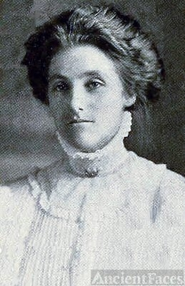 Alice Evelyn Davis, Virginia, 1909