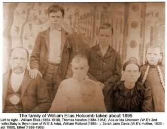 A photo of William Elias  Holcomb
