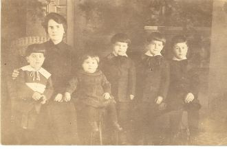 Theriault Family, Maine 1921