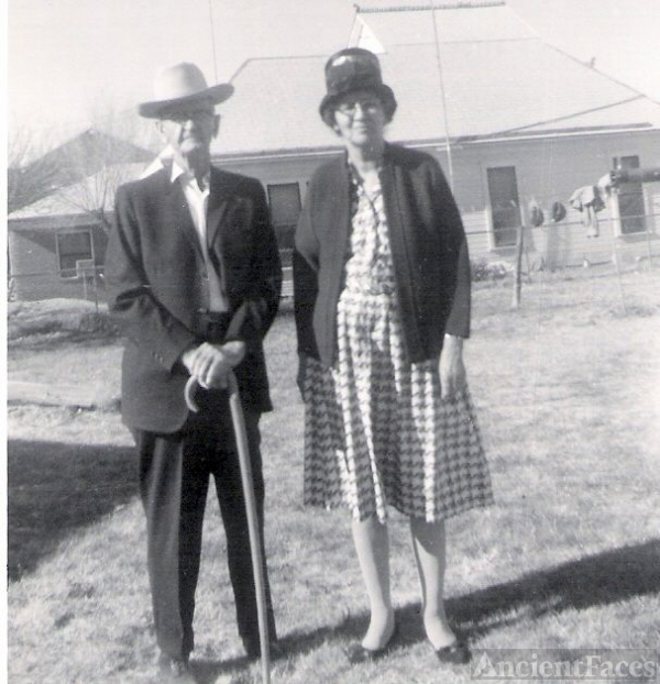 My grandparents, T. L. Denton and Euna Denton