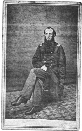 Henry A Wells, Major 56th USCI in his Union