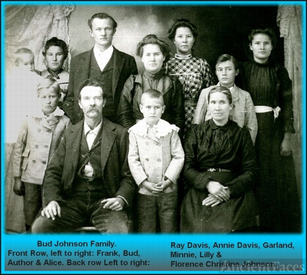"Francis Samuel ""Bud"" Johnson Family"