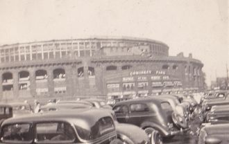Comiskey Park Parking Lot, IL 1930's